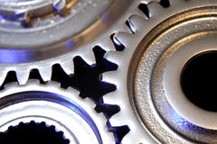 Details of gears Royalty Free Stock Photography