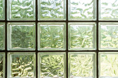Details of glass mosaic wall Royalty Free Stock Images