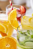 Infused waters Stock Photos