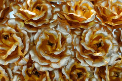 Details of gold roses Royalty Free Stock Images