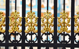 Details of golden gate Royalty Free Stock Photos