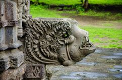Details, Gondeshwar-Tempel, Sinnar, nahe Nashik schnitzen, Maharashtra, Indien stockbilder