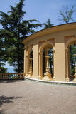 Details of greek rotonda Stock Image