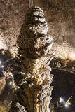Details of the Grotta Gigante in Trieste Royalty Free Stock Images