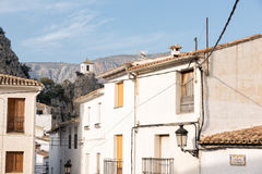 Details of Guadalest village, Spain Stock Photography