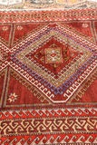 Details of hand woven carpets Royalty Free Stock Photo