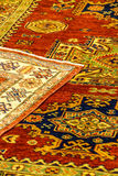 Details of hand woven carpets Stock Images