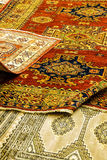Details of hand woven carpets Stock Photo