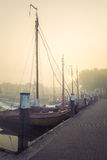 Details of Historic fishing vessels Royalty Free Stock Images