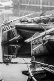 Details of Historic fishing vessels Royalty Free Stock Photography