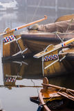 Details of Historic fishing vessels Stock Photography