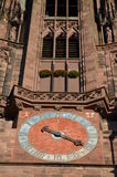 Gothic Cathedral of Freiburg, Southern Germany Royalty Free Stock Photo