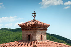 Details of the Holy Monastery of Varlaam Stock Photography