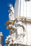 Details of Holy Trinity column near Matthias Stock Photography