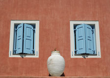 Details of house in Assos village, Kefalonia Royalty Free Stock Photo