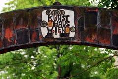 Details  of Hundertwasserhaus Wien Royalty Free Stock Photo