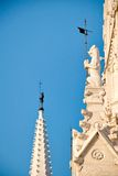 Details of the Hungarian parliament Royalty Free Stock Photography