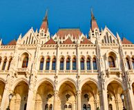 Details of the Hungarian parliament Stock Images