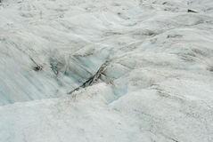 Details of the ice in a glacier, south of Iceland Stock Image