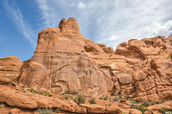 Details im Sandstein am Bogen-Nationalpark Lizenzfreie Stockfotografie
