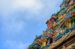Details of indian Kapaleeswarar temple Stock Photography