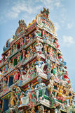 Details of an Indian temple in Singapore Stock Photography