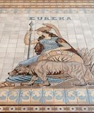 Floor tiles, California State Capitol Royalty Free Stock Photo