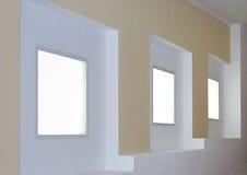 Details of interior with illumination. Details of office interior with illumination close up Stock Photos