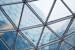 Details of an interior of modern office building Stock Images