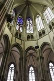 Details of the interior of St. Martins Cathedral in Utrecht, the Stock Photography