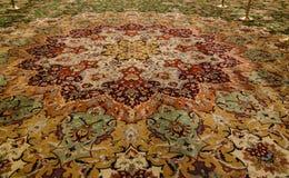Details of Interior to Sheikh Zayed Mosque. Carpet. , Abu-Dhabi, UAE Royalty Free Stock Image