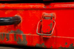 Details in iron box Stock Photo