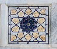 Details of Islamic Mosaic Wall Stock Photo