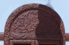 Details of Jeddah Old Mosque. Saudi Arabia Royalty Free Stock Photography