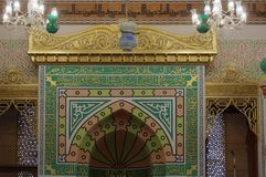 Details of Jeddah Old Mosque. Saudi Arabia Royalty Free Stock Photos