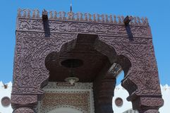 Details of Jeddah Old Mosque. Saudi Arabia Stock Images