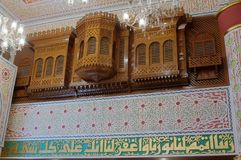 Details of Jeddah Old Mosque. Saudi Arabia Stock Photography