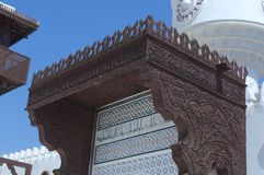 Details of Jeddah Old Mosque. Saudi Arabia Royalty Free Stock Image