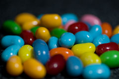 Details of jelly beans candy Stock Photos