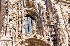 Details of Jeronimos monastery Stock Images