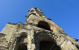 Details of the Kaiser Wilhelm Memorial Church Stock Images