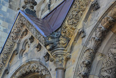 Details of the Kaiser Wilhelm Memorial Church Royalty Free Stock Images