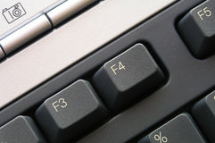 Details from keyboard royalty free stock image