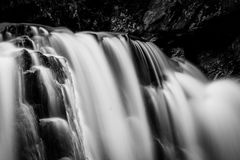 Details of Kilgore Falls, at Rocks State Park, Maryland. Stock Image
