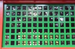 Details of the Kirishima Jingu shrine architecture Stock Photos