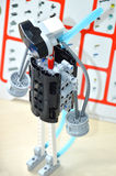 Details of the kit for robotics Royalty Free Stock Photography