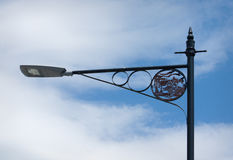 Details on a lamp post. Stock Photos