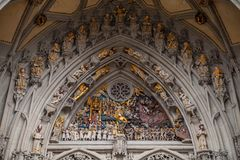 Details of the Last Judgement, Bern Stock Photo