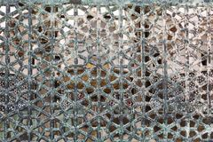 Details lattice of the Blue Mosque Stock Photos