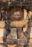 Details of Lion-headed figures in Angkor Thom Stock Photography